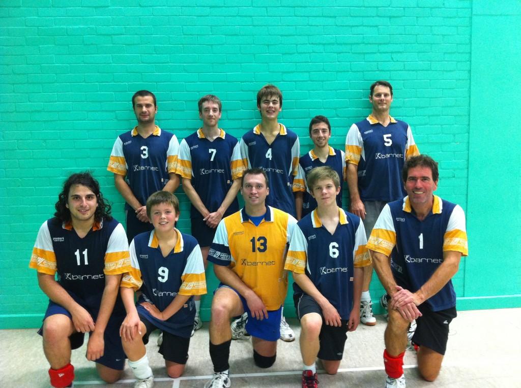 VK Barnet cup team